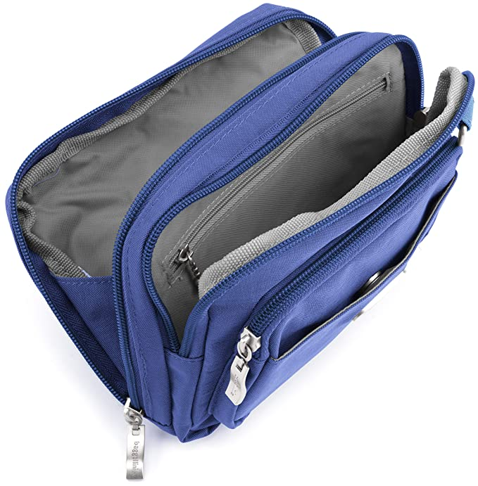 Amazon.com  Baggallini Triple Zip bagg 1cdb36df37ef0