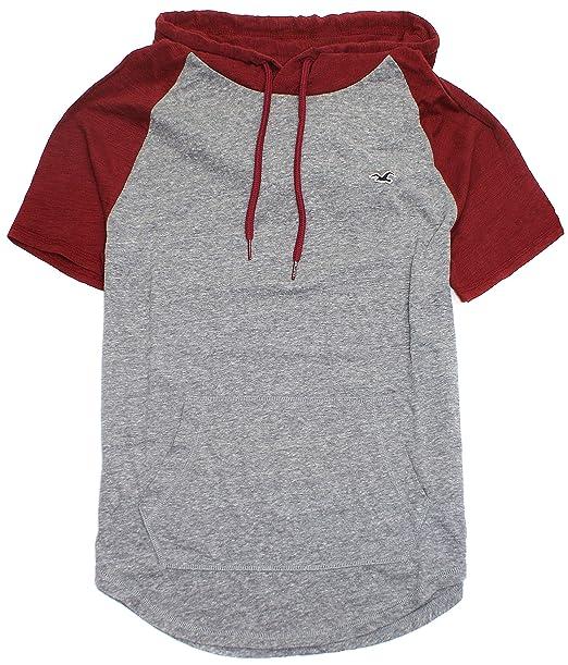 Hollister HOM-16 - Camiseta con Capucha para Hombre - - Medium ...