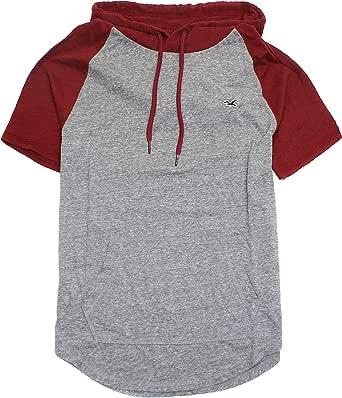 Hollister HOM-16 - Camiseta con Capucha para Hombre - - Medium: Amazon.es: Ropa y accesorios