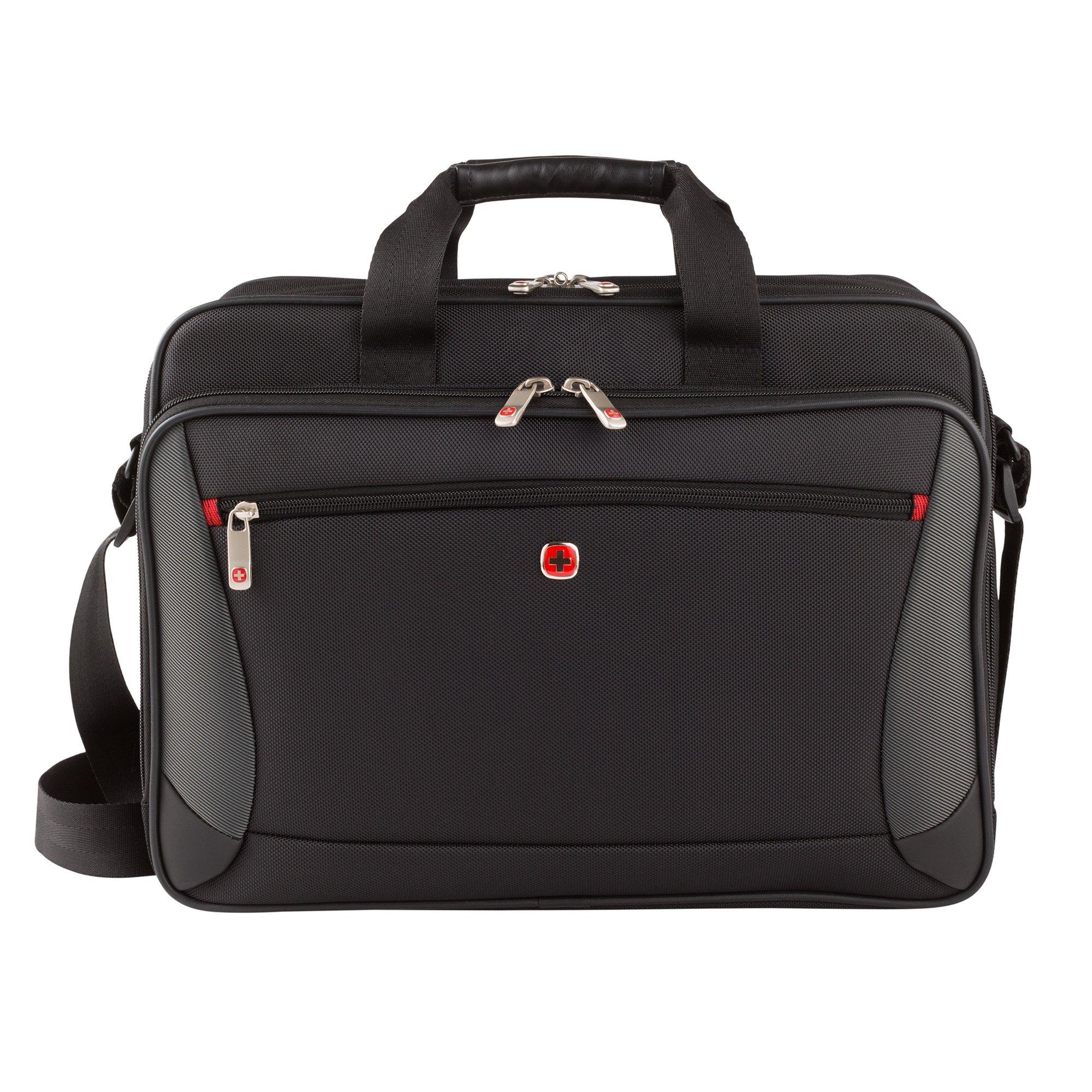 Wenger Luggage Mainframe 15.6'' Laptop Brief Bag, Black, One Size