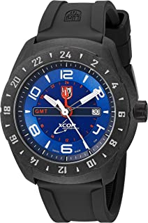 Luminox Mens SXC Space Swiss Quartz Resin and Rubber Casual Watch, Color: