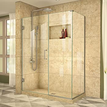 DreamLine Unidoor Frameless Hinged Shower Enclosure