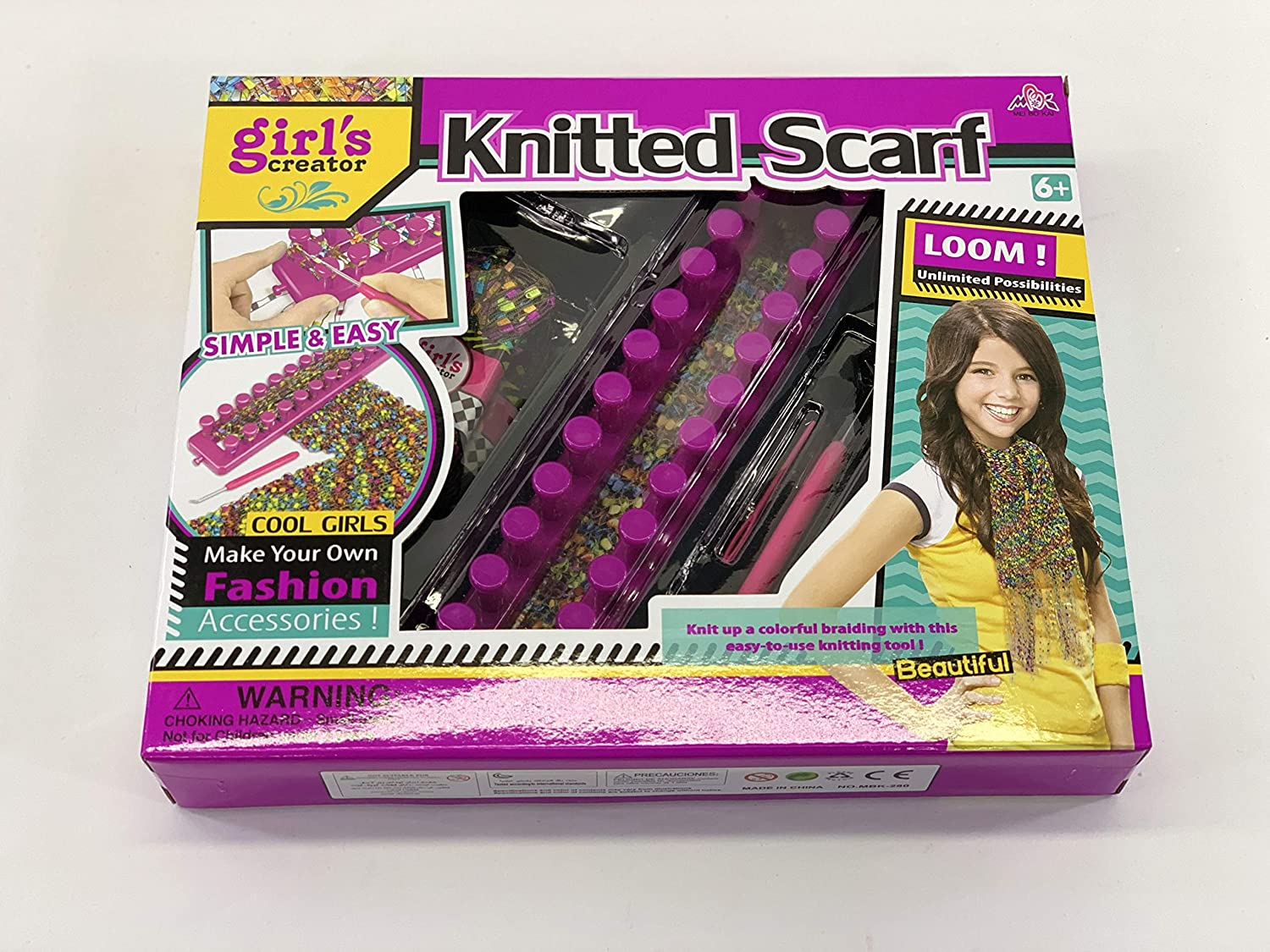 Girls creator Knitted Scarf