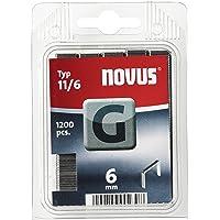 Novus klem G 11 1200 stuks. 6 mm Stuk