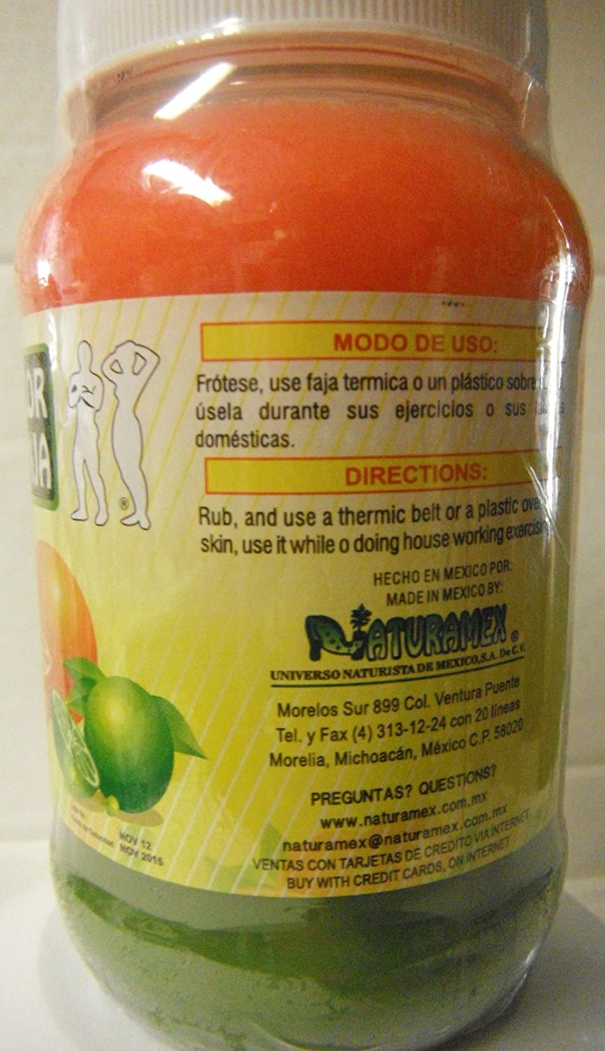 Amazon.com: Crema Bicolor Limon-toronja Bote Grande De 18 Oz: Health & Personal Care