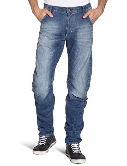 61239d96f35 Image Unavailable. Image not available for. Color: G-Star Raw Men Arc 3D Loose  Tapered Jeans ...