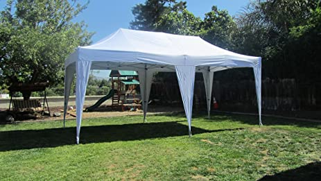 Impact Canopy 10 x 20 Pop Up Canopy Tent Impact Canopies Instant Outdoor Wedding Market & Amazon.com : Impact Canopy 10 x 20 Pop Up Canopy Tent Impact ...