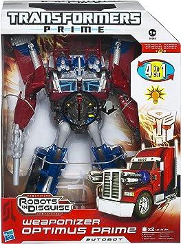 Transformers Hasbro Prime Weaponizer - Figura transformable de Optimus Prime y Juego de Accesorios: Amazon.es: Juguetes y juegos