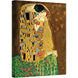 Art Wall The Kiss Gallery Wrapped Canvas Art, 36 by 48-Inch