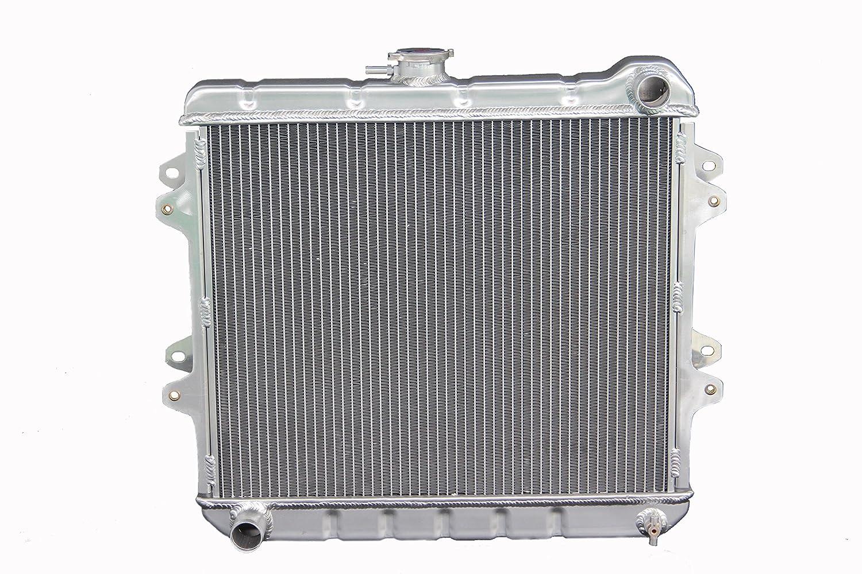 kks945 3 filas Radiador de aluminio Compatible con pastilla para Toyota 4Runner 2.4L L4: Amazon.es: Coche y moto