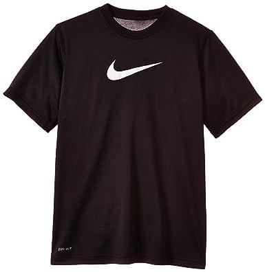 Nike - Camiseta de pádel para niño, tamaño XL, color negro