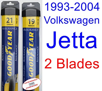 1993-2004 Volkswagen Jetta Replacement Wiper Blade Set/Kit (Set of 2 Blades