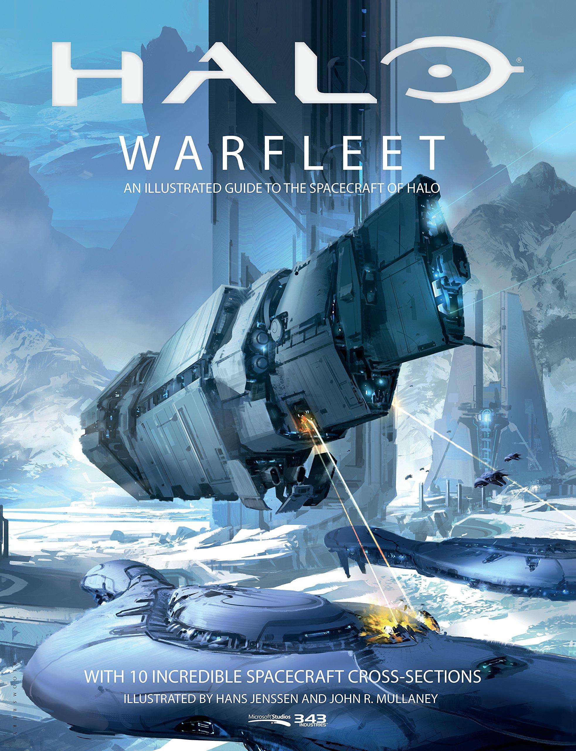 Amazon.com: Halo Warfleet (9781681196633): 343 Industries, Hans ...