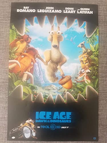 Ice Age Dawn Of The Dinosaurs 2009 S S Advance Rolled Movie Poster 11x17 At Amazon S Entertainment Collectibles Store