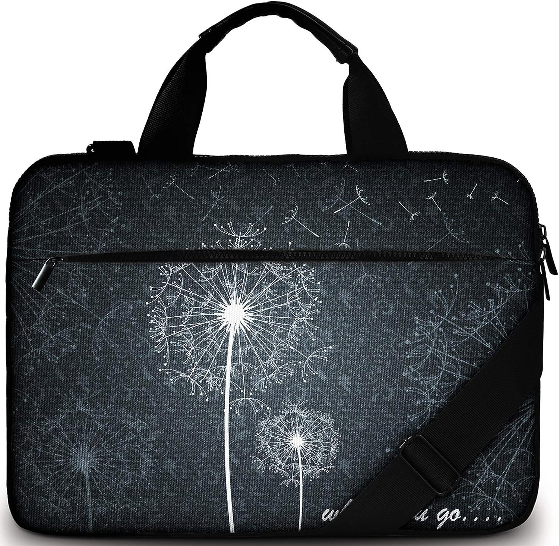 Sidorenko Bolsa para portátil de 15-15,6 Pulgadas | Bolso de Hombro para portátil: Bolso de Hombro Elegante De Diseño - Ordenador – Portátil