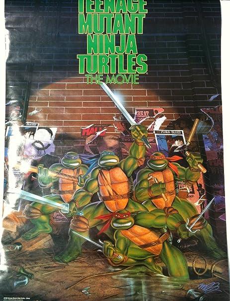 Amazon.com: Teenage Mutant Ninja Turtles Menta Sealed Póster ...