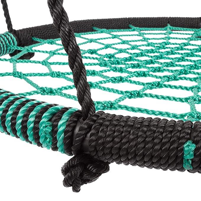 Buy HeyPlay Spider Web Tree Swing-Large 40-inch Diameter Hanging ...