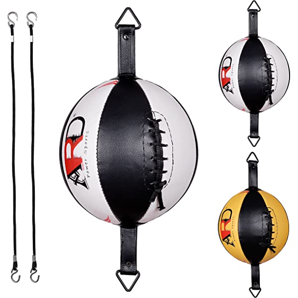 Double End Boxing Workout Speed Ball Speed Training Dodge Punching Bag BlackCPY