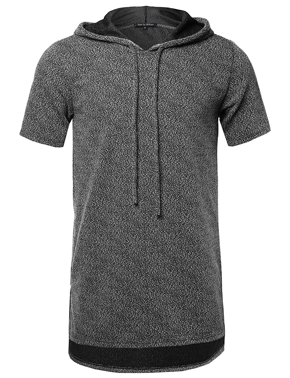 ea81b28bb0 Style by William SBW Men's Basic Everyday Short Sleeve Lightweight Hoodie  free shipping