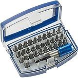 Einhell 49118490 - Bit-box con puntas de 32 piezas, acero al cromo-vanadio