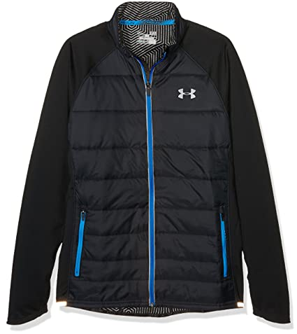 Under Armour Chaqueta Soft Shell CGI Storm Run Negro/Azul ...