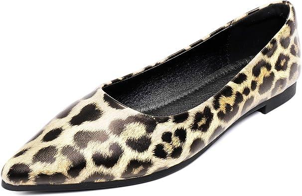 Cattle Shop Women's Leopard Flats