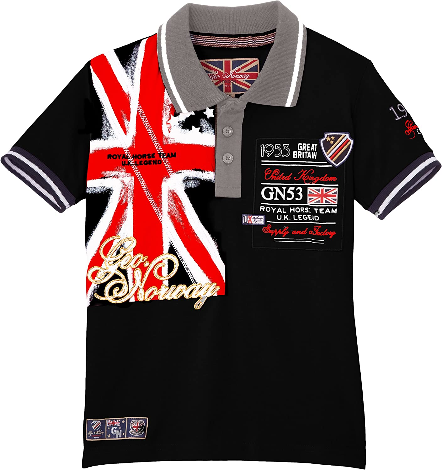 Geographical Norway Kilt Boy - Polo para niño, Talla 10 años (10 ...
