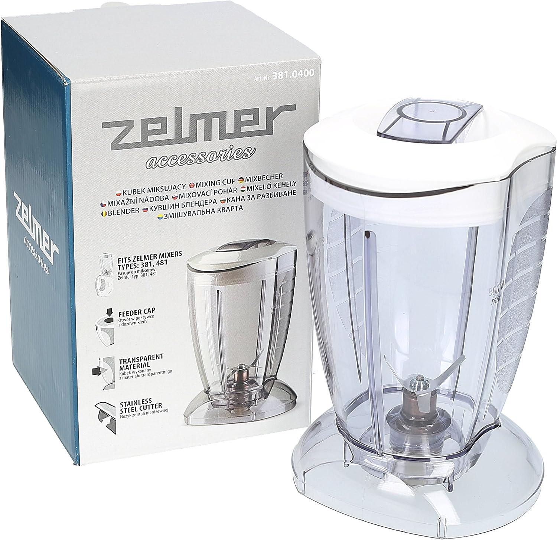 Vaso Licuadora para Batidora Mano ZELMER 377 / 381 / 481: Amazon.es