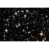 Hubble Ultra Deep Field Hi Gloss Space Poster