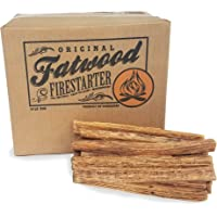 Earth Worth Earth Worth 10 Pound Box - Fatwood Firestarter, 83-DT5302, Brown, 10 Pound