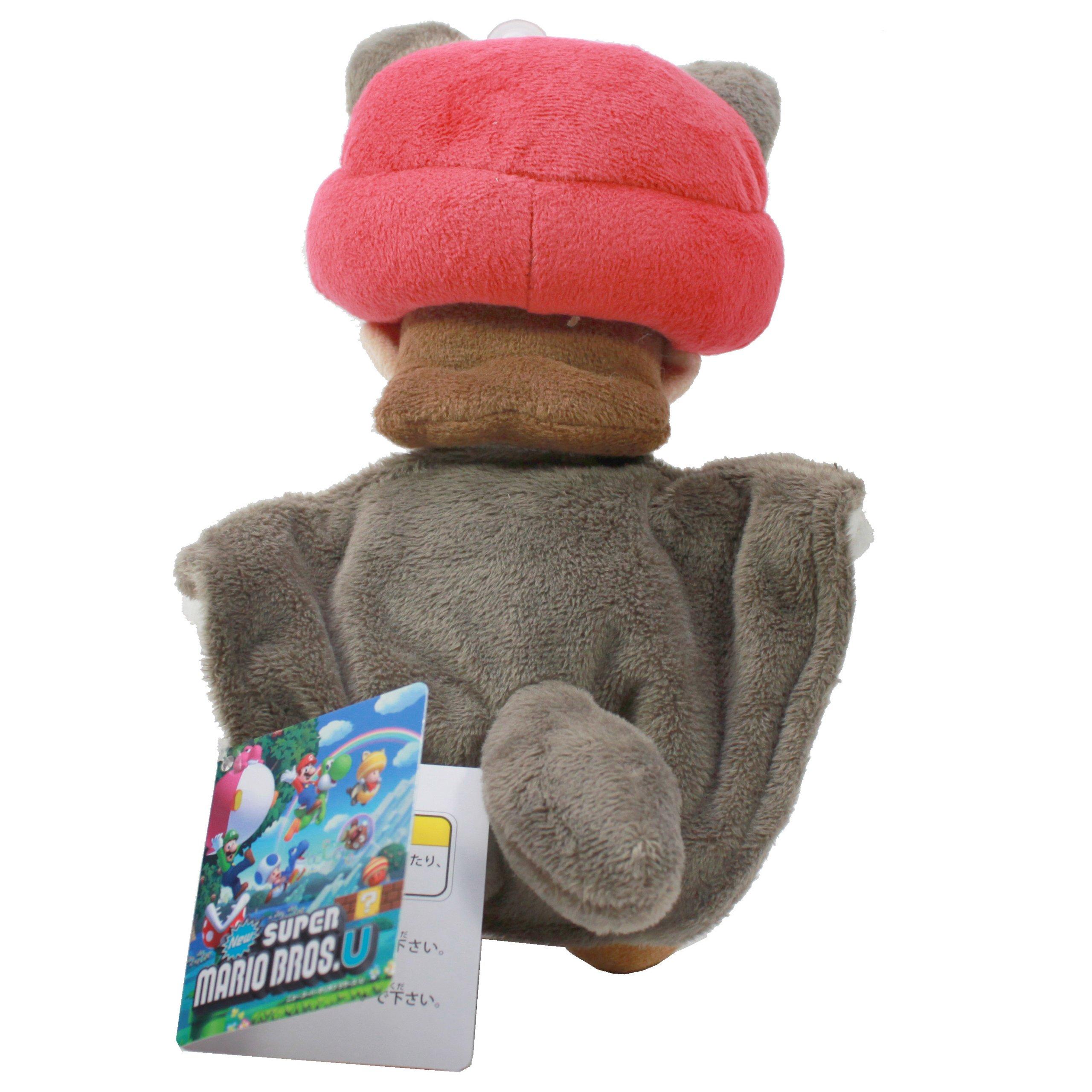 Sanei Super Mario 9'' Squirrel Musasabi Mario Plush Doll by Sanei