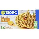 Bjorg Biscuits 6 Gaufres au Miel Bio 175 g - Lot de 6