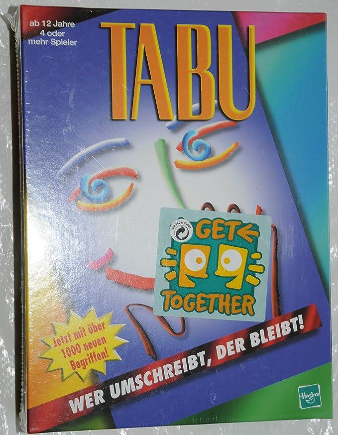 Hasbro Diversión tabú. Juego. [Importado de Alemania]: Amazon.es: Juguetes y juegos