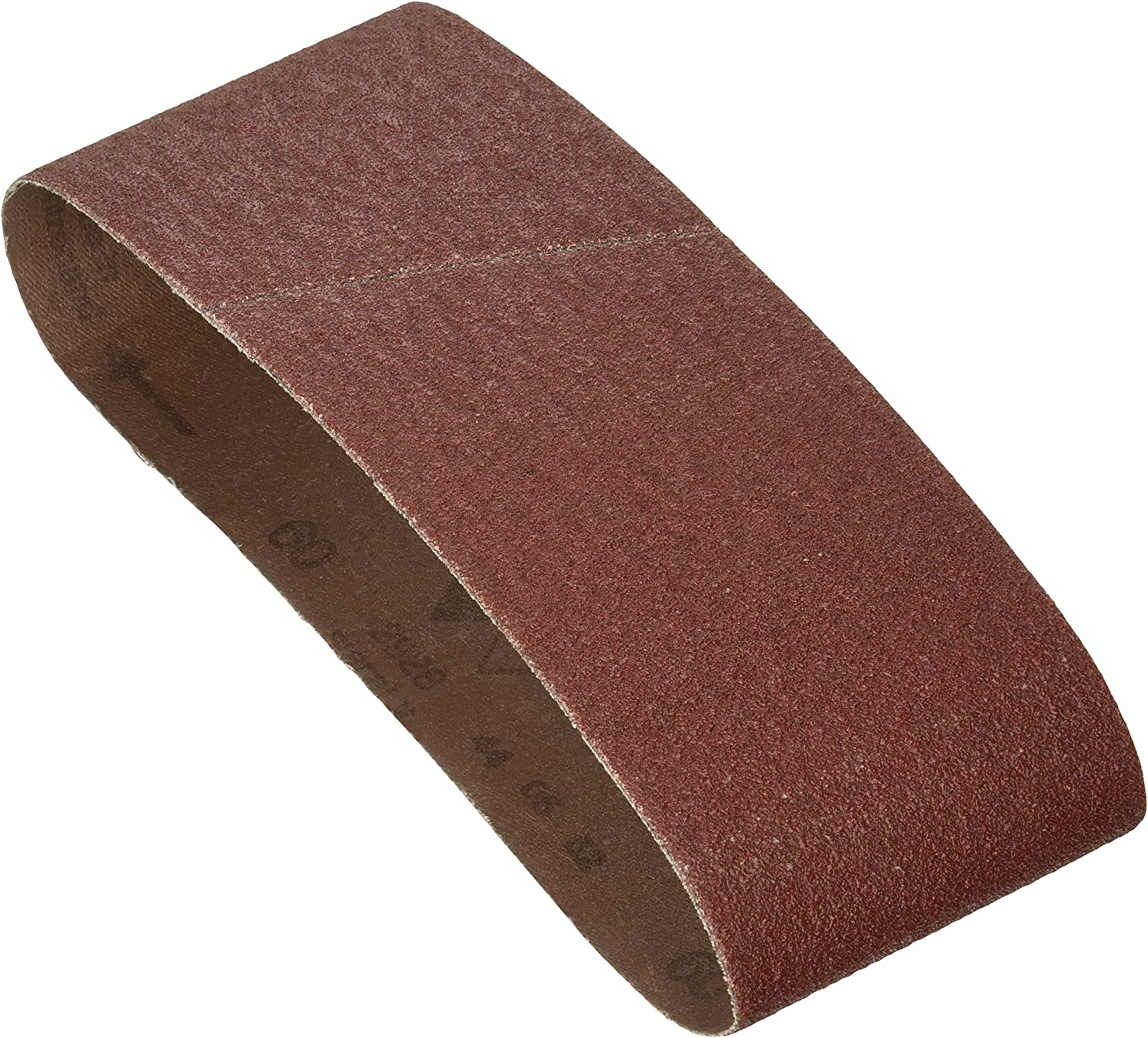 Grit 80 Sanding Belt 1//4 W x 18 In L