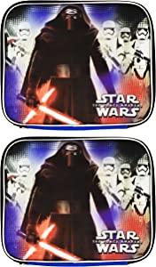 Set of 2 Kylo Ren Themed Lunch Boxes! - Insulated - Reusable Lunch Boxes for Kids! (2, Kylo Ren)