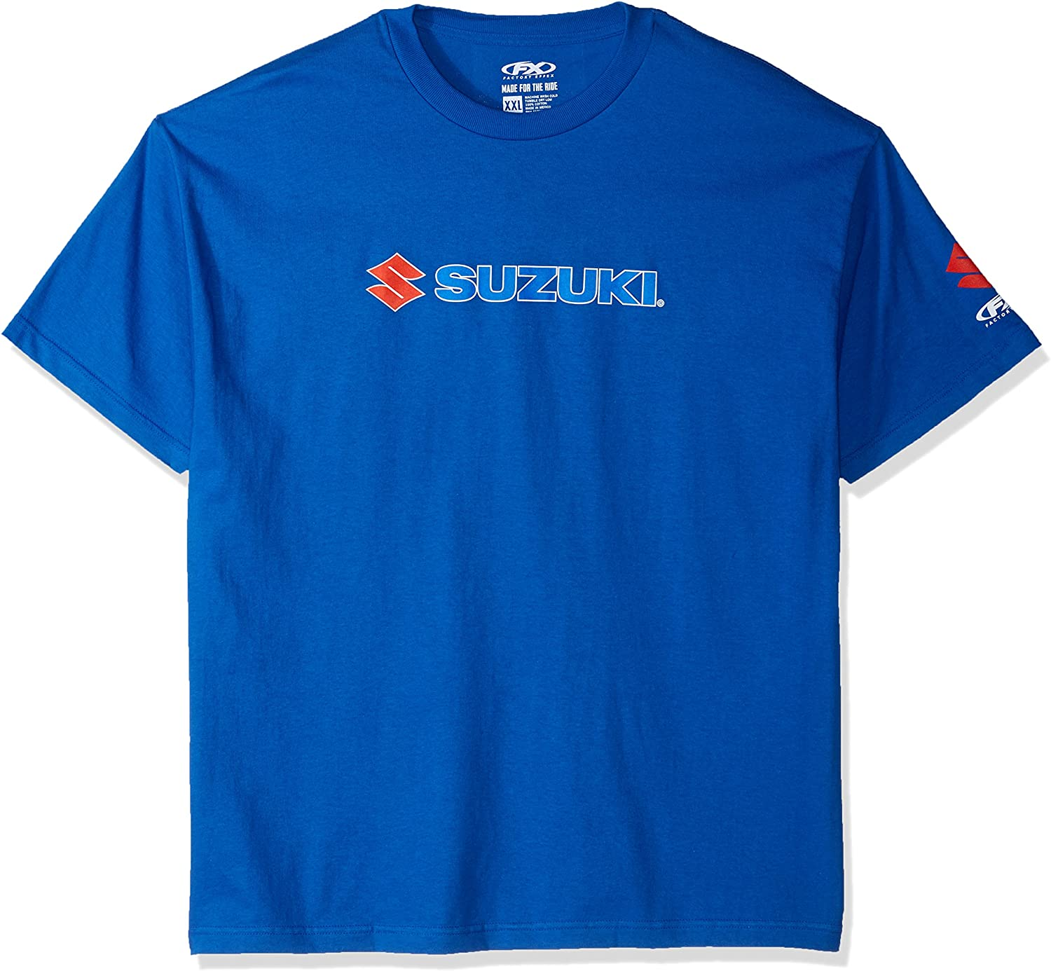 Factory Effex 15-88464  Suzuki Team T-Shirt Blue, X-Large