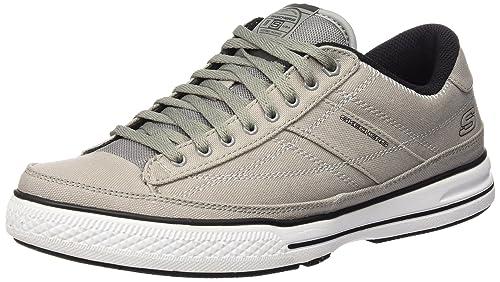 Skechers Arcade Chat 51033 GRY - Zapatillas de ante para hombre: Amazon.es: Zapatos y complementos