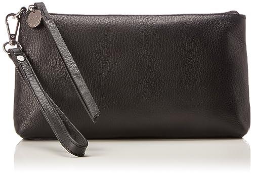 Esprit - 127ea1o061, Carteras de mano Mujer, Negro (Black), 3.5x13x23