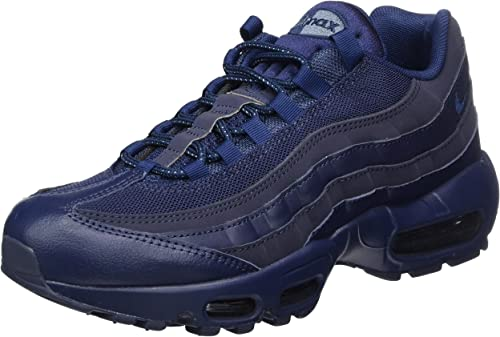 eterno Correspondiente a Adentro  Nike Men's Air Max 95 Essential Gymnastics Shoes, Blue (Midnight Navy/Midnight  Navy/Obsidian), 6.5 UK: Amazon.co.uk: Shoes & Bags