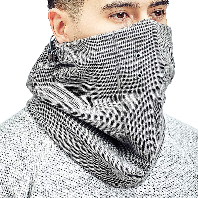 Bandana con filtro sostituibile Lekko Ottimo sostituto per la maschera anti-smog N95 Scalda collo anti-inquinamento scialle