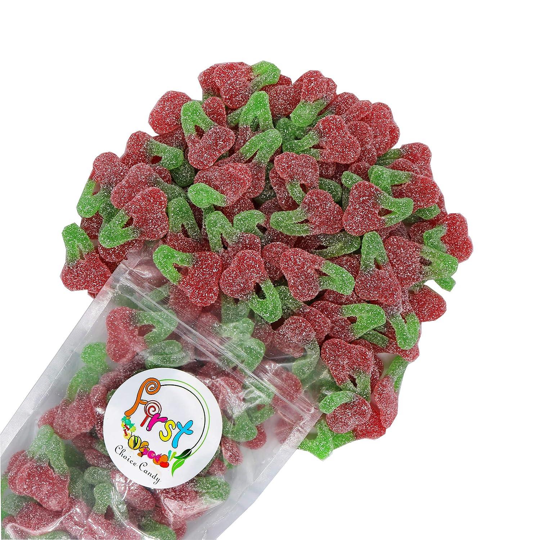 FirstChoiceCandy Sour Twin Cherries (2.2 Pound)
