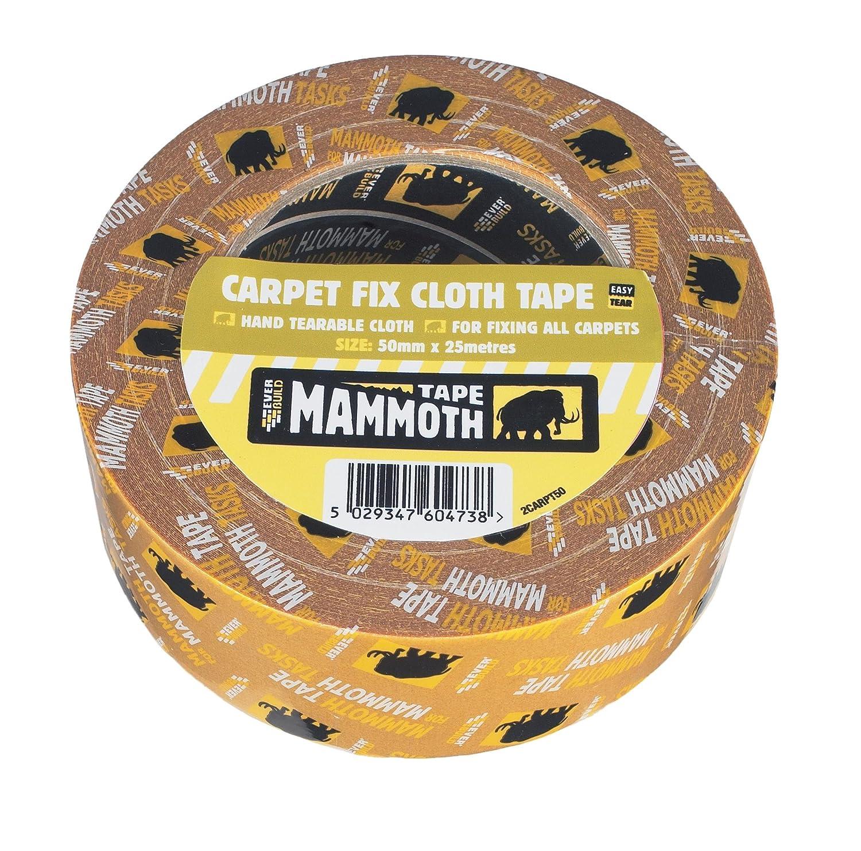 Everbuild Carpet Fix Cloth Tape 2CARPT50-EBD
