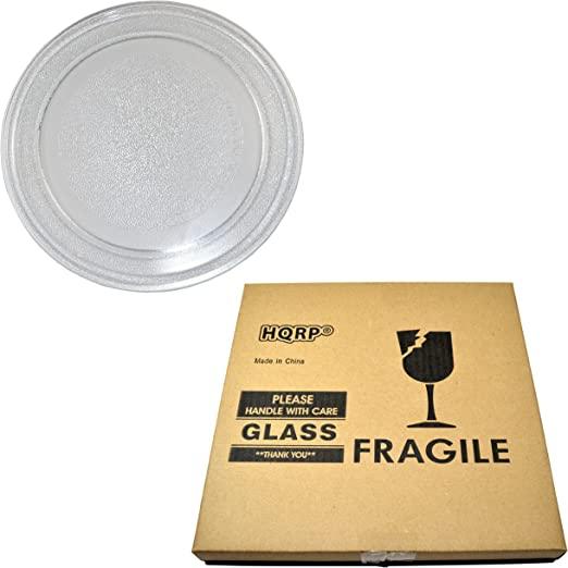 HQRP Coaster HQRP 12-3//8 inch Glass Turntable Tray for Hamilton Beach P100N30 P100N30AL P100N30ALS3B HBP100N30ALS3 GA1000AP30P3 EM031MZC-X1 Microwave Oven Cooking Plate 315mm