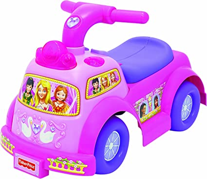 Amazon.com: Fisher-Price Little People Lil princesa Ride On ...