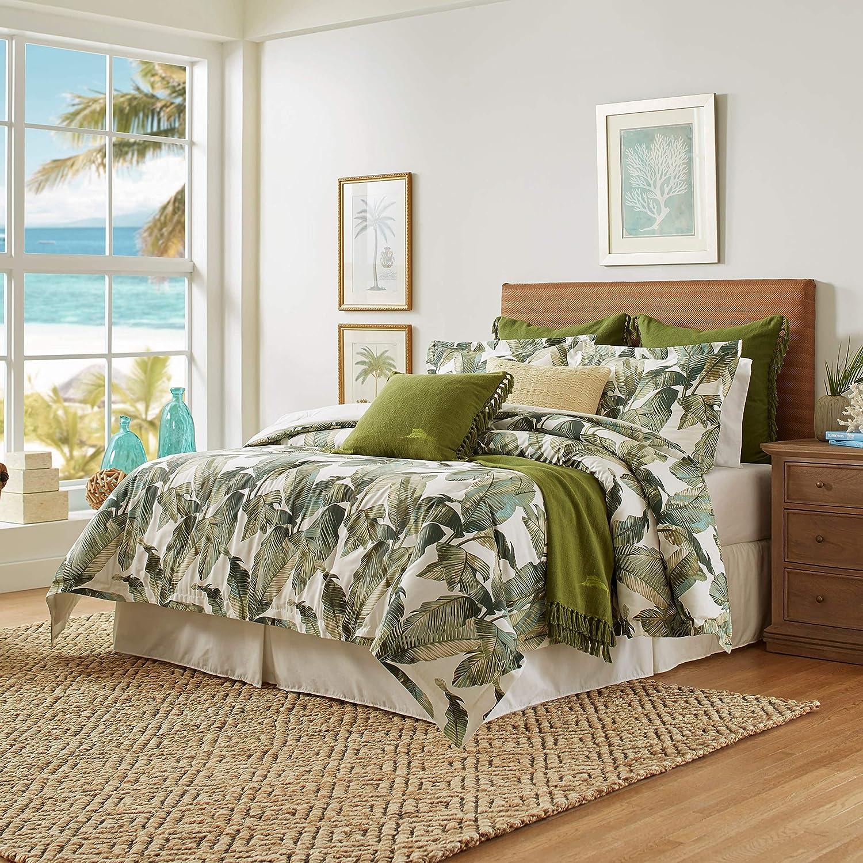 Tommy Bahama Fiesta Palms Comforter Set, King, Green