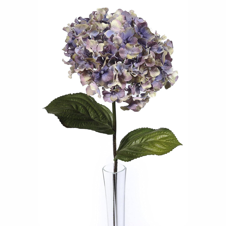 Artificial Hydrangea Stem Vintage Purple 68cm//26.75 Inches