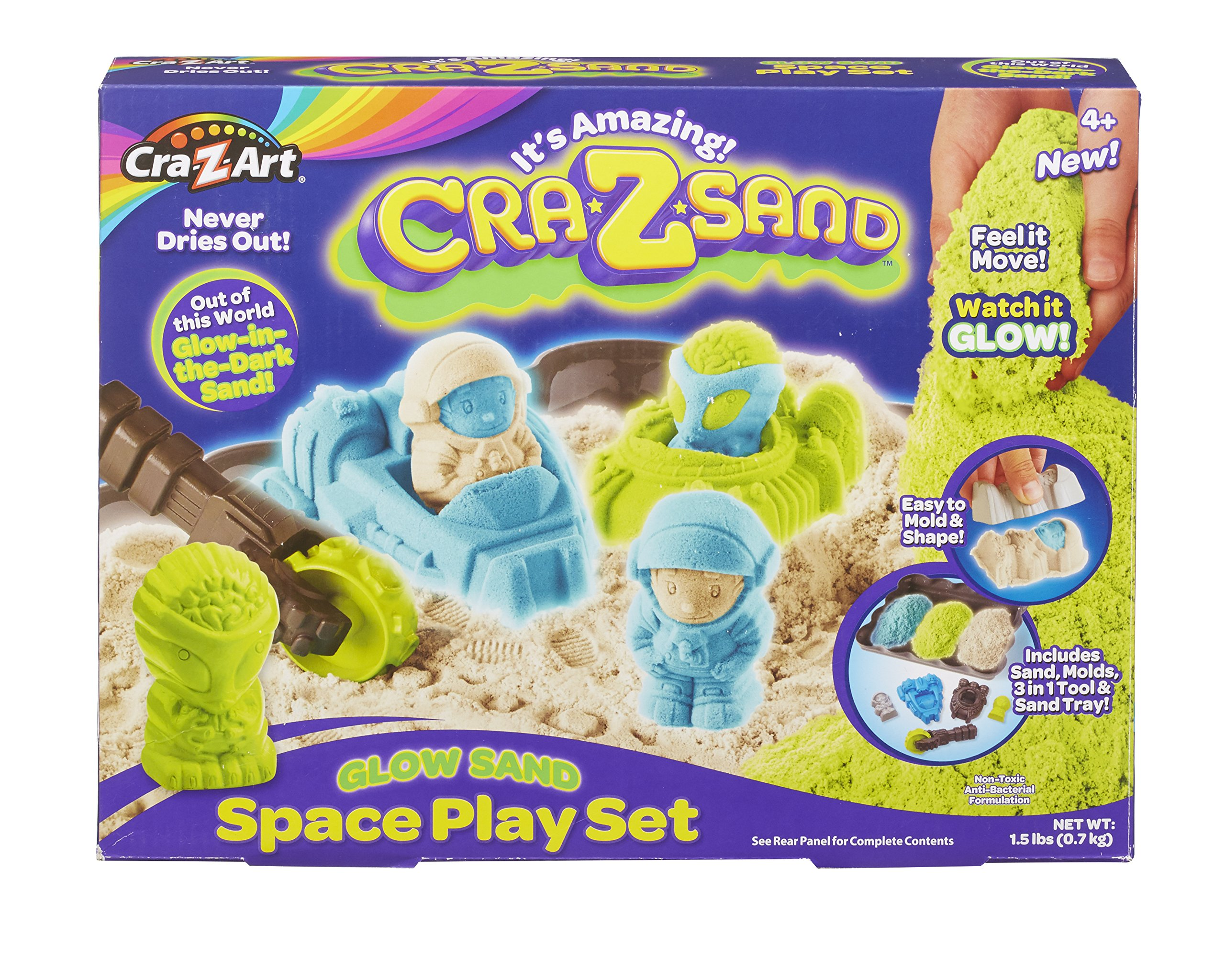 Cra-Z-Art Cra-Z-Sand Glow Sand Space Set Toy by Cra-Z-Art (Image #5)