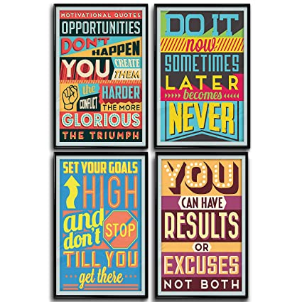 Throwback Traits Posters for Classroom or College  Art Prints with  Motivational and Inspirational Quotes  Positive Vibes Wall Poster Arts   These Set