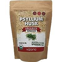 Psyllium orgánico certificado en polvo 300g Vizana Nutrition