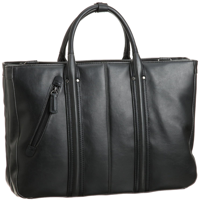 [バジェックス] BAGGEX BXヴィンテージビジネストート三層23-5459 B0025T33Q2  ブラック